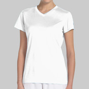 Ladies SPA Embroidered New Balance Ndurance® Athletic V-Neck T-Shirt